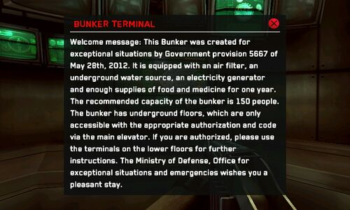 The Bunker prompt
