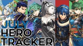 July Legendary & Mythic Hero Tracker For Fire Emblem Heroes (7.1.19) FEH
