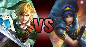 Link vs marth by mythkirby-d8b2xeq