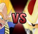Vegeta VS Shadow