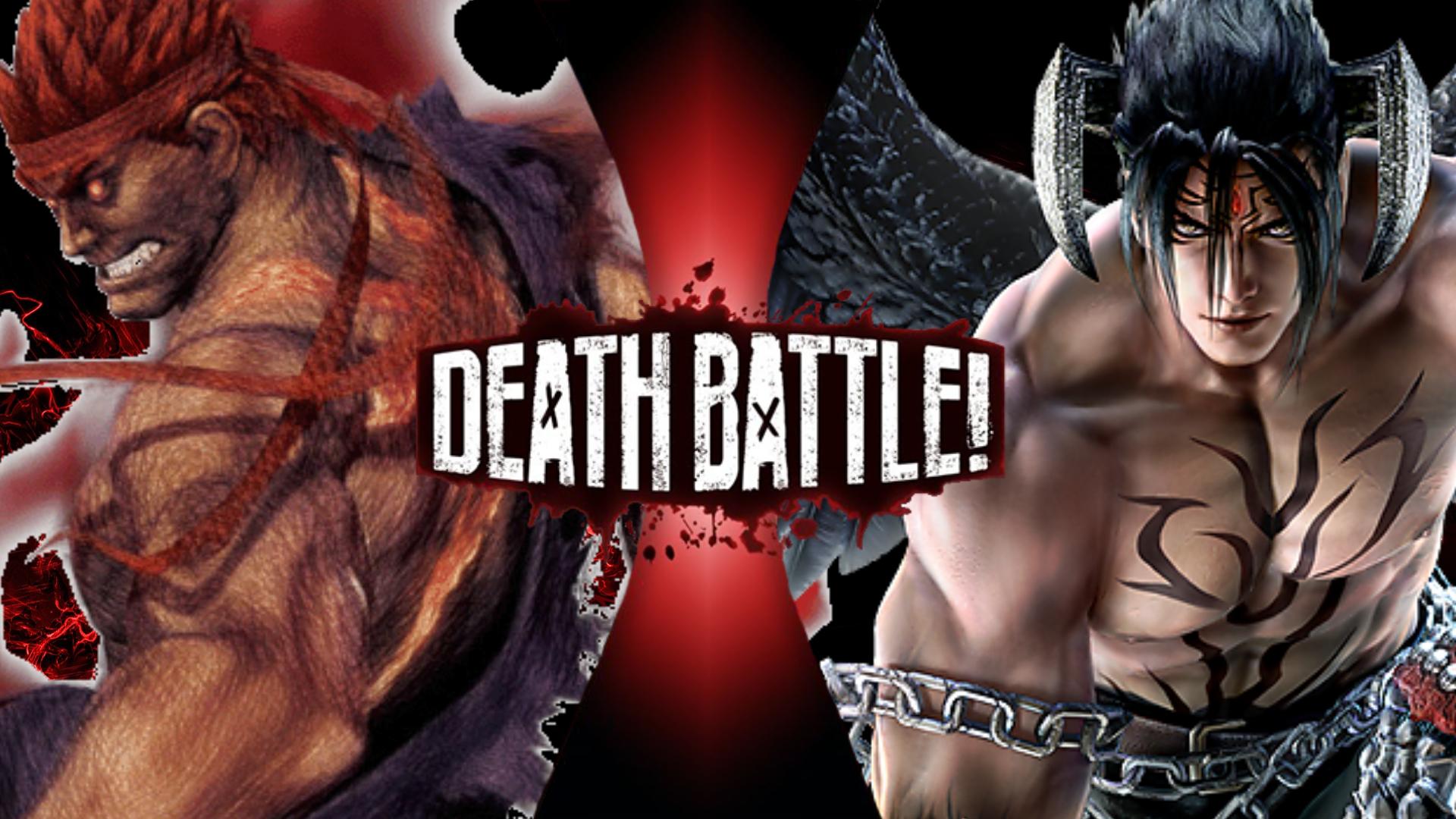 imagen evil ryu vs devil jin png wikia death battle en español