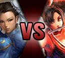 Chun-Li VS Mai Shiranui