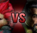 Akuma VS Shang Tsung