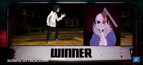Horrortale Sans vs  Jeff the Killer | Death Battle Fandom Wiki
