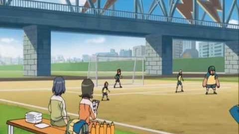 Inazuma Eleven Episode 6 Part (1 3) - This is the Inazuma Drop!