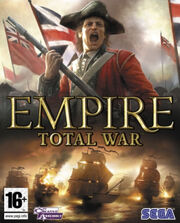 Empire Total War cover art