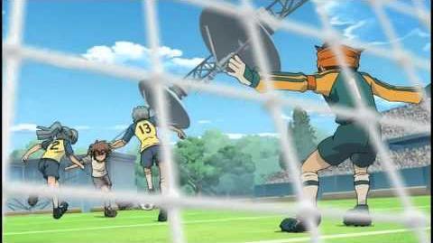 Inazuma Eleven Episode 8 Part (1 2) - The Fearful Soccer Cyborgs!