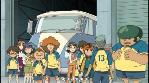 Inazuma Eleven Episode 10 Part (2 2) - Teikoku`s Spy!
