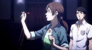 Ep1 Machiko throws dart