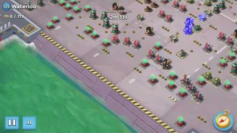 Valkyrie Will Solo on Waterloo on Choke Point Boom Beach