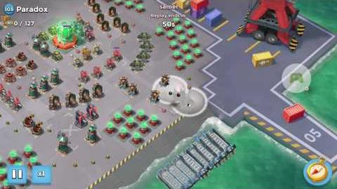 Valkyrie Will Solo on Paradox on Foxtrot Boom Beach