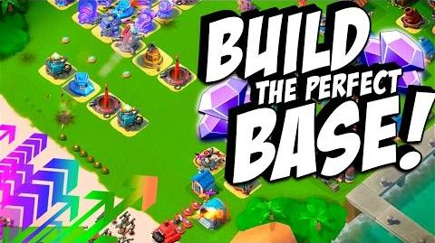 "Boom Beach ""HAMMERMAN ★NO ICE★ Base Build TIPS & Strategy"" Stages 1-7"