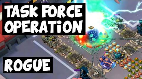 Rogue ✦ Left Side, Three Attacks! ✦ Massive Attack ✦ Boom Beach