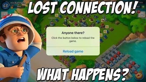 Losing Connection in Boom Beach!! What Happens??-0