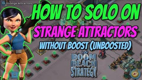 Boom Beach Strange Attractors - How to finish solo - Unboosted - Dead End op - 50 men TF