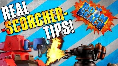 Boom Beach SCORCHER TIPS & STRATEGY! Clearing Player Bases!
