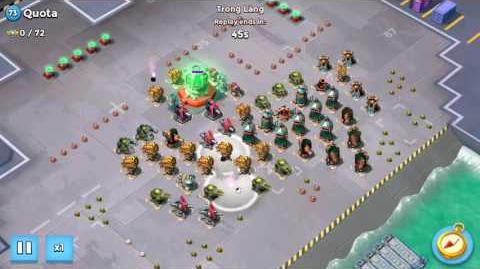 Boom Beach - Task Force - All Zooka solo Quota