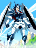 Fairy Tail - Erza Scarlet wearing Adamantine Armor
