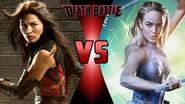 Elektra Natchios vs. White Canary
