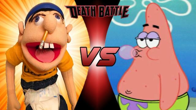 Jeffy vs Modern Patrick Star