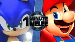 OMM Mario VS Sonic