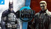 One Minute Melee Batman vs Albert Wesker