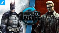 One Minute Melee Batman vs Albert Wesker