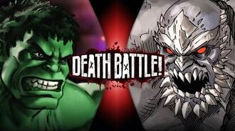 Hulk VS Doomsday (Marvel VS DC) DEATH BATTLE!
