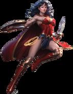 Wonder Woman, the Princess of Themyscira