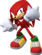 Knuckles the echinda