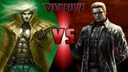 Liquid Snake vs. Albert Wesker
