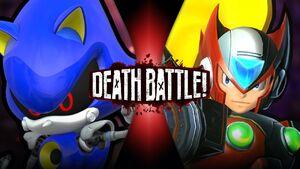 Metal Sonic VS Zero twi