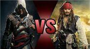 Edward Kenway vs. Jack Sparrow