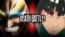 (P) All Might VS Might Guy Official