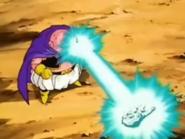 Dragon Ball - Majin Buu healing Hercule's puppy