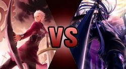 Archer EMIYA vs. Hakumen