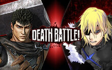 Death Battle Guts vs Dimitri