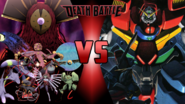 D-Reaper vs. Devil Gundam