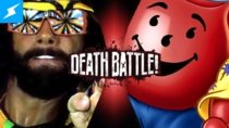 Death Battle Thumbnail Version 3.5 - Randy Savage VS Kool-Aid Man