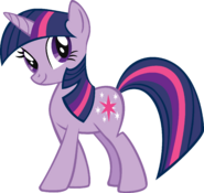 Twilight Sparkle Unicorn Render