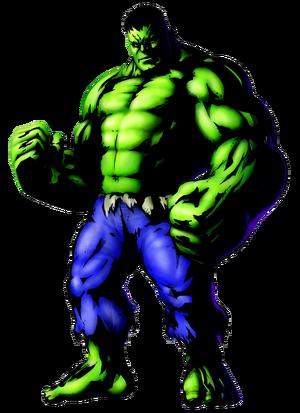Hulk flipped