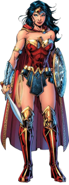 Wonder woman comic png render by mrvideo vidman-da47a14