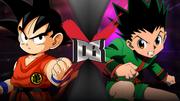 Kid Goku VS Gon