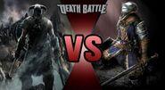Dovahkiin vs. the Chosen Undead