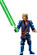 SNES - Super Star Wars 3 Return of the Jedi - Luke Skywalker