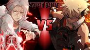Hayato Gokudera vs. Katsuki Bakugo