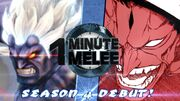 One Minute Melee S4 EP1 - Oni vs Kenpachi Round 3 (Street Fighter vs Bleach)