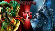 Kain vs. Arthas Menethil
