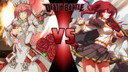 Elphelt Valentine vs. Celica A. Mercury