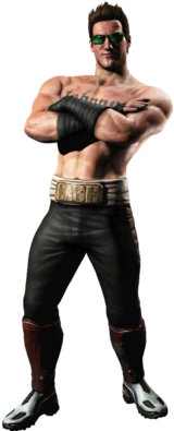 Johnny Cage full body
